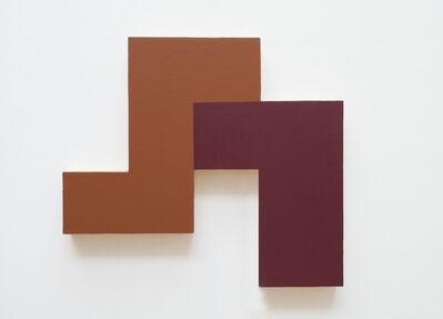 David Simpson, 'Interlock (Eccentric Polyplane Series)', 1984-1985