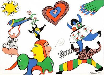 Niki de Saint Phalle, 'Je t'aime', 1971