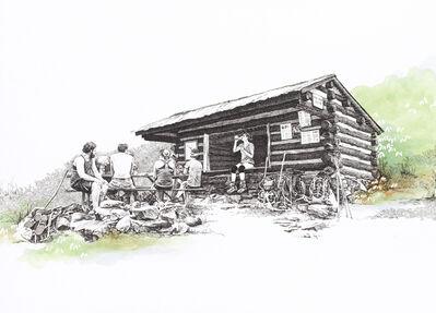 Sarah Kaizar, 'Pine Knob Shelter, Maryland, [ 39.54249, -77.60181 ]', 2018