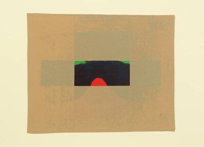 Howard Hodgkin, 'Indian View E', 1971