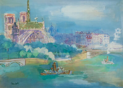 Jean Dufy, 'L'abside de Notre Dame', 1888-1964
