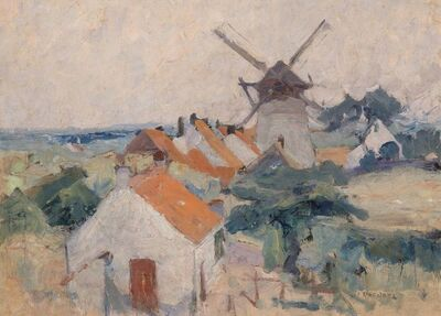 Joseph M. Raphael, 'Siska's Mill, Knocke'