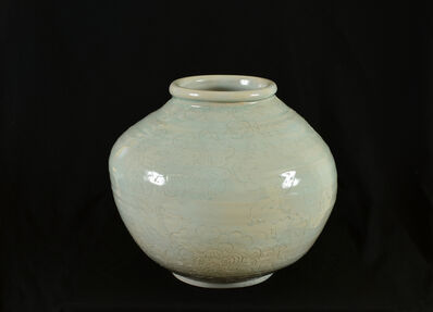 Jeffry Mitchell, 'CSULB Celadon Pot #1', 2019