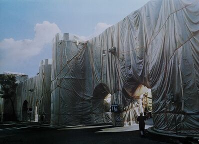 Christo, 'The Wall - Wrapped Roman Wall', 1973-1974