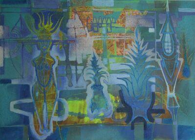 Guillermo Pacheco, 'Oleo y pigmento/tela ', 2019