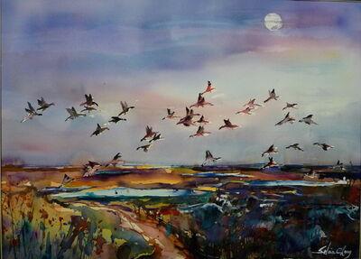 Selina Cheng, 'Evening Flight', 2014
