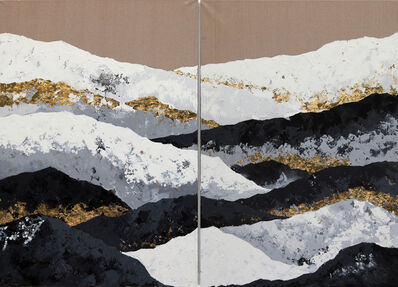 Chelsea Davine, 'Roof of the World (diptych)', 2019
