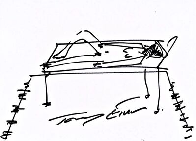 Tracey Emin, 'Woman on her Bed', 2018