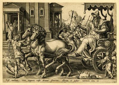 Harmen Jansz van Muller, 'Post multum vero temporis rediit dominus servorum illoris et contulit rationem cum eis (Matt. 25.19.)', ca. 1600