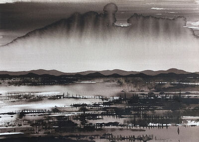 David Middlebrook, 'Approaching Storm over Mutwintji', 2016-2017