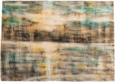 Christian Rohlfs, 'Sonnenuntergang an der Ostsee', 1929