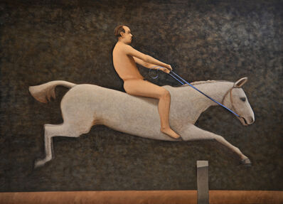 Andrew Nixon, 'Pandora Jumping a Hurdle', 2013