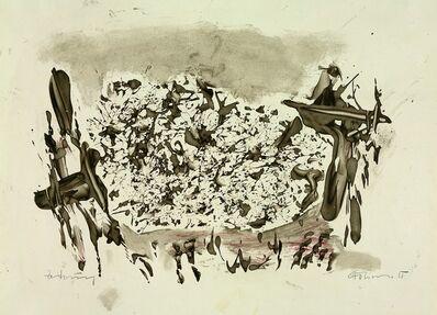 Gerhard Hoehme, 'Zeichnung', 1955