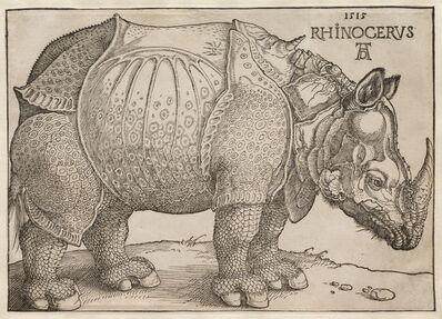 Albrecht Dürer, 'The Rhinoceros', 1515
