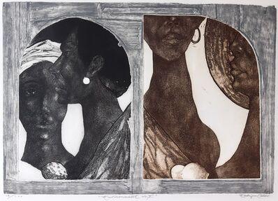 Eldzier Cortor, 'Environment No. V', 1969