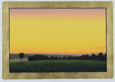 John Beerman, 'Joey View, Deep Yellow Sky', 2002
