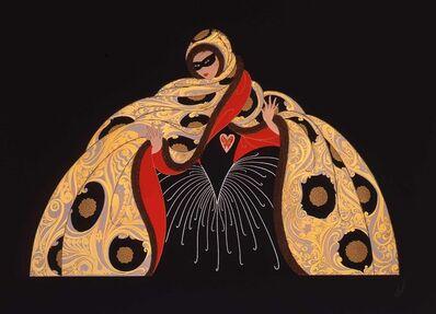Erté (Romain de Tirtoff), 'Masquerade I', 1987
