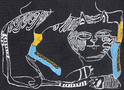 Summer Wheat, 'Sitting on Cat', 2018