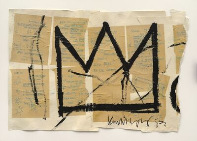 Jean-Michel Basquiat, 'Untitled(Crown)', 1982