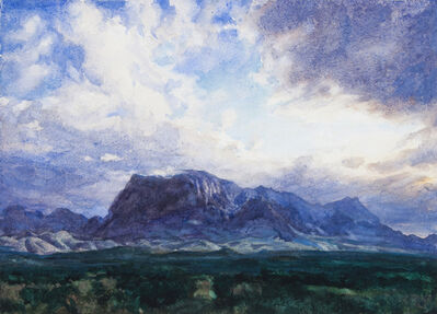 Bob Stuth-Wade, 'Chisos from the South', 2017