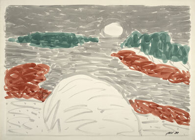 Stephen Pace, 'Winter at Sand Beach Stonington', 1981