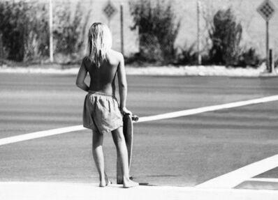 Hugh Holland, 'Skater Crossing, CA', 1975