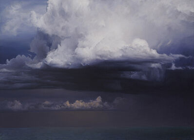 David Warren, 'Preliminary Study for 'Clouds at Coffs Harbour'', 2010