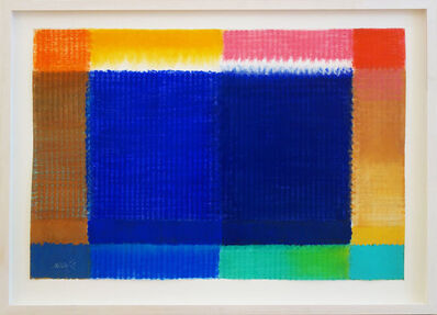 Heinz Mack, 'Großes blaues Fenster (Ohne Titel)', 2015