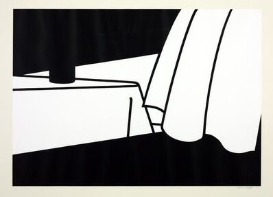 Patrick Caulfield, 'Curtain and Bottle', 1973