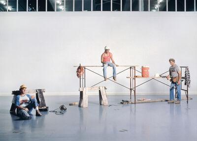 Duane Hanson, 'Lunchbreak', 1989