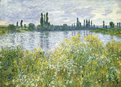 Claude Monet, 'Banks of the Seine, Vétheuil', 1880