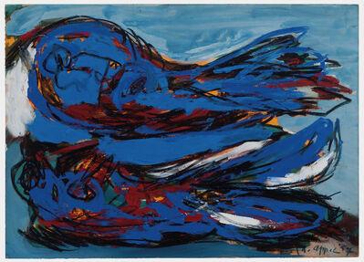 Karel Appel, 'Two Fisle Birds', 1957