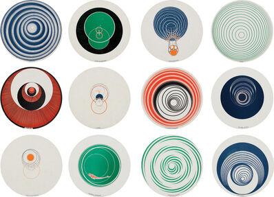 Marcel Duchamp, 'Rotoreliefs (Optical Disks)', 1953