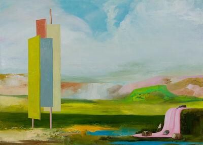 Thomas Frontini, 'Monumental Still-life at the Pink Falls  ', 2018