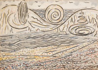 Abraham Walkowitz, 'Coney Island', 1915