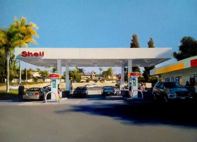Romain E., 'Shell Station in Orange County', 2012