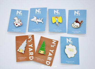 Yoshitomo Nara, 'N's YARD Exclusive Premier Pin (Set of 7)', 2010-2020