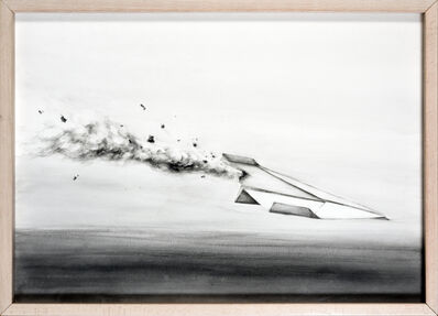 Pejac, 'Icaro', 2013