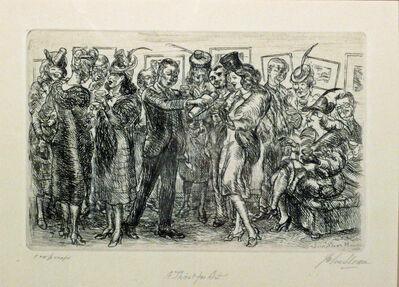 John Sloan, 'A THIRST FOR ART', 1939