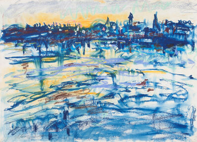 Nell Blaine, 'Gloucester Harbor', 1958