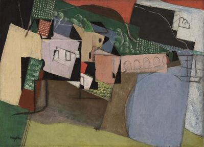 Henri Hayden, 'Le port aux arcades', 1917