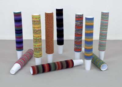 Haegue Yang, 'Cup Cosies (for Parkett 89)', 2011