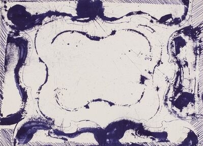 Arman, 'Violon cadre violet', 1973