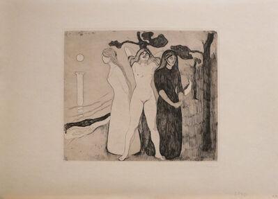 Edvard Munch, 'Kvinnen II (The Woman II)', 1895
