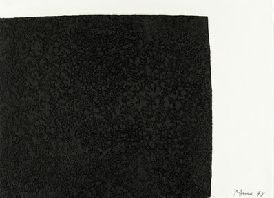 Richard Serra, 'Leo from the portfolio of Leo Castelli's 90th Birthday', 1997
