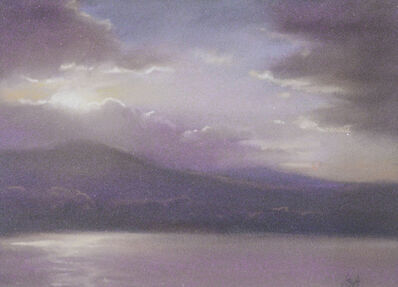 Jane Bloodgood-Abrams, 'Sunset Over the Mountains', 2019
