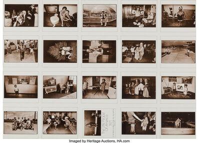 Leslie Krims, 'Seventeen sheets of folios', circa 1970s