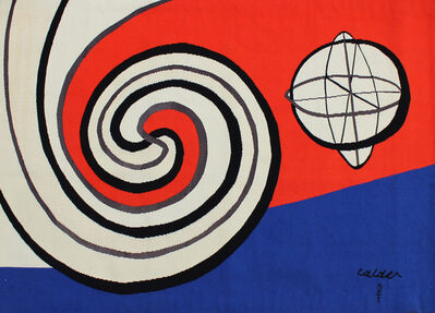 Alexander Calder, 'The Sphere and the Spirals | Le Sphere et les Spirales', 1975