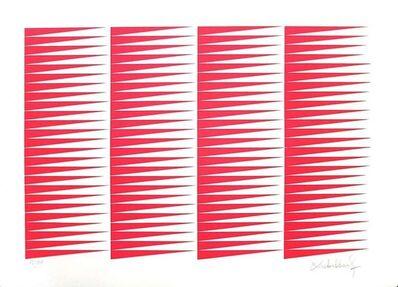 Victor Debach, 'Fuchsine Composition', 1970's