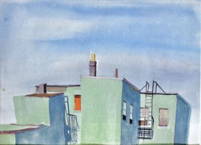 Colleen Franca, 'Backyard Greenpoint', 1985